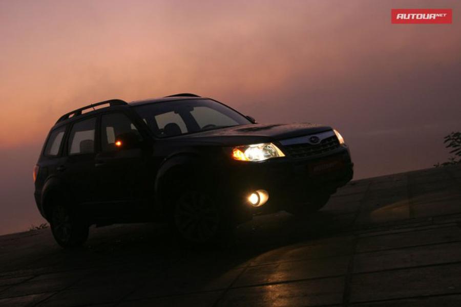 Тест-драйв Subaru Forester (Субару Форестер) экстерьер 3