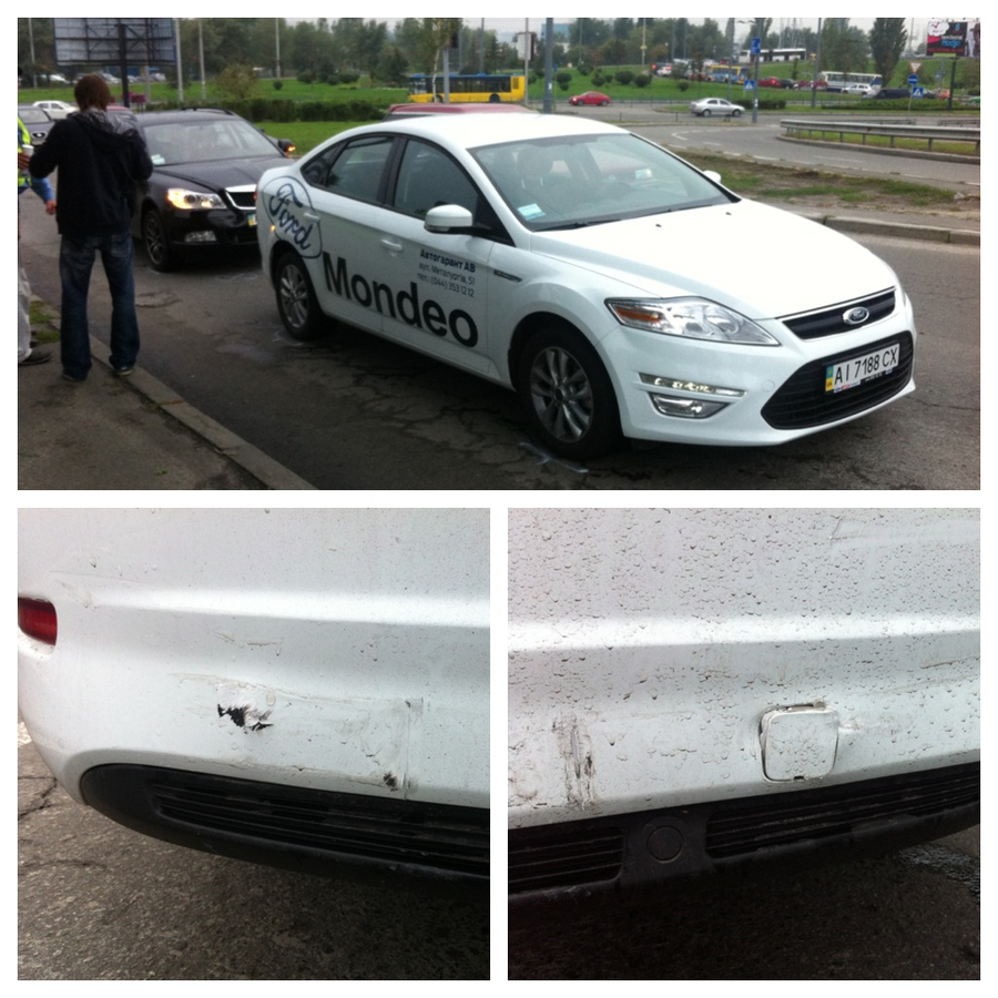 Ford Mondeo ДТП