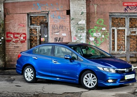 Тест-драйв Honda Civic седан 2012 — молодая зрелость