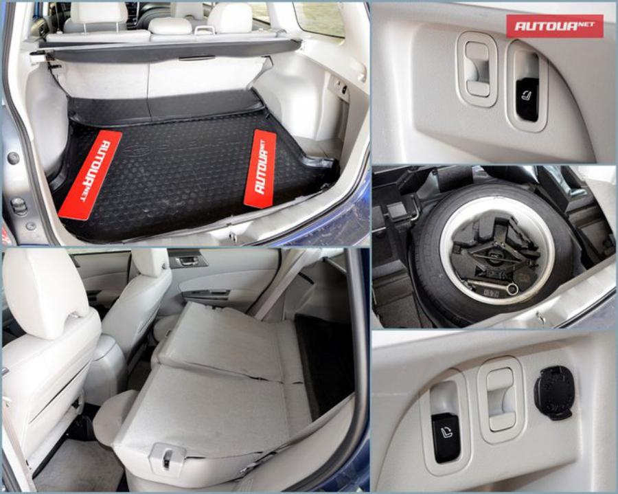 Тест-драйв Subaru Forester (Субару Форестер) багажник