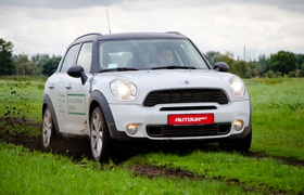 Тест-драйв MINI Countryman – проверка на практичность