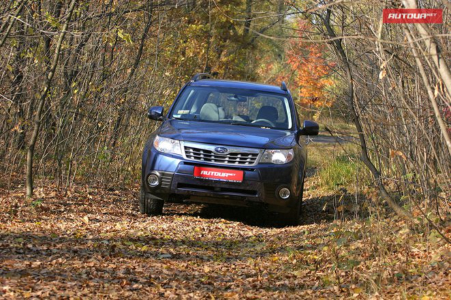 Тест-драйв Subaru Forester (Субару Форестер) экстерьер 2