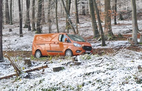 Ford Transit Custom: заводной апельсин
