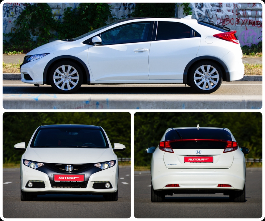 Тест-драйв Honda Civic хетчбэк 2012 виды