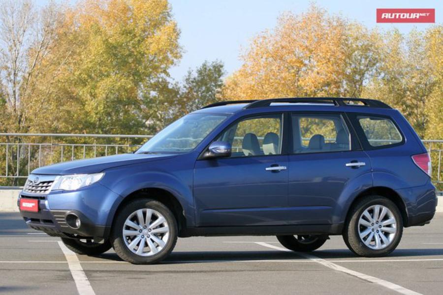 Тест-драйв Subaru Forester (Субару Форестер) экстерьер