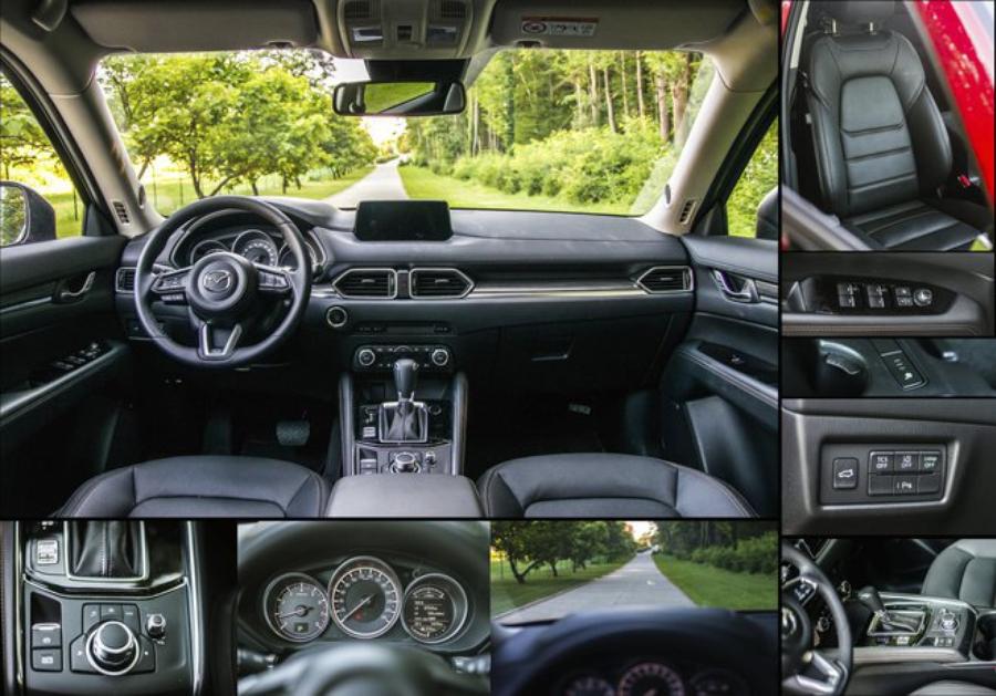 Mazda CX-5 интерьер
