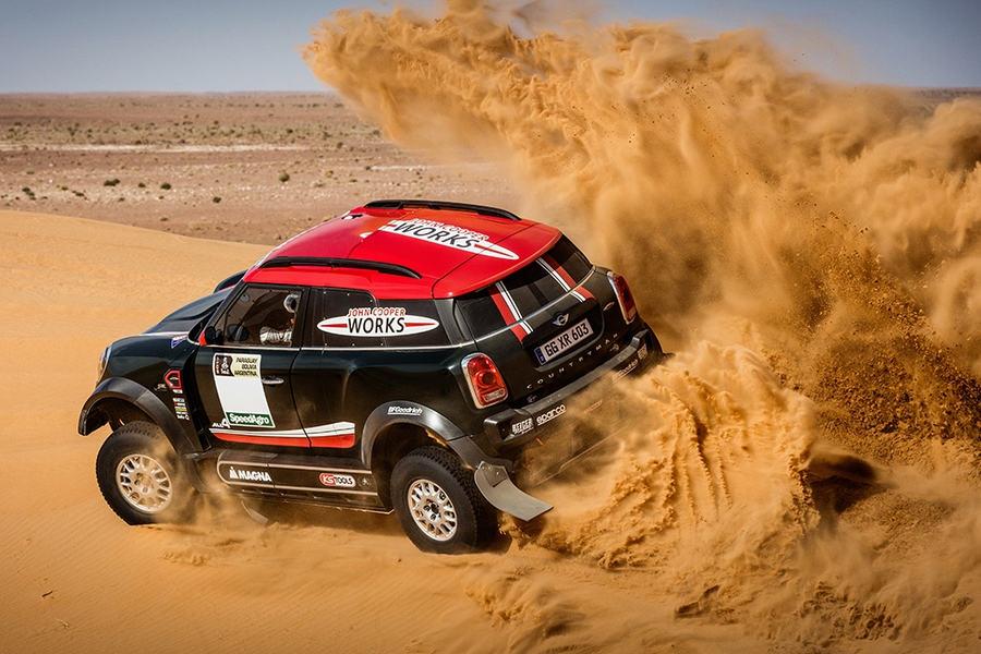Mini Cooper Countryman Dakar 2017