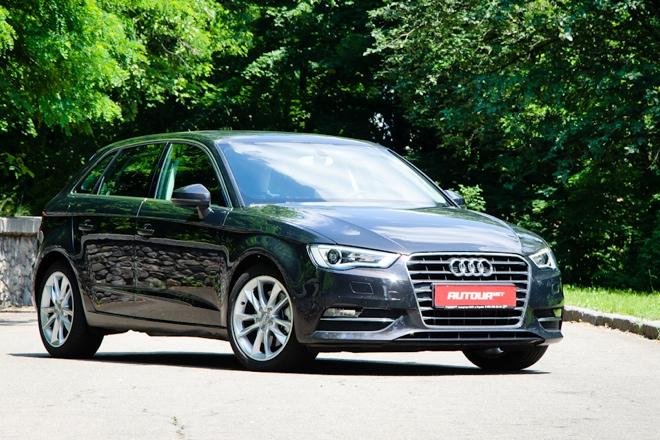 Тест-драйв Audi A3 Sportback — средний премиум