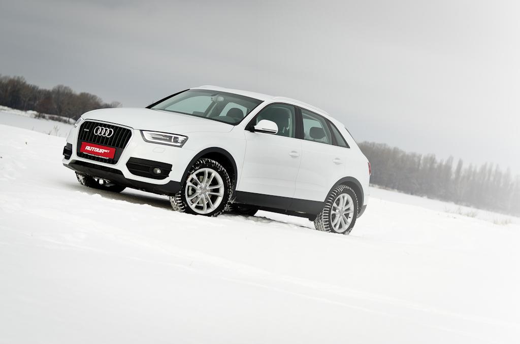Тест-драйв Audi Q3 — много удовольствия в небольших габаритах