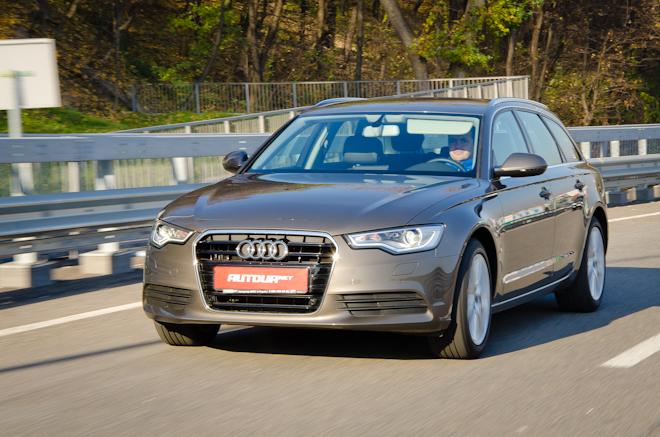 Тест-драйв Audi A6 Avant — быстрый универсал для гонщика на пенсии
