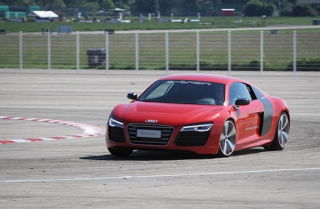 Заряжаемся энергией от электрических Audi E-Tron