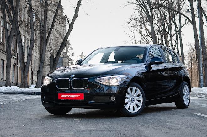 Тест-драйв BMW 1 series — входной билет в мир баварских моторов