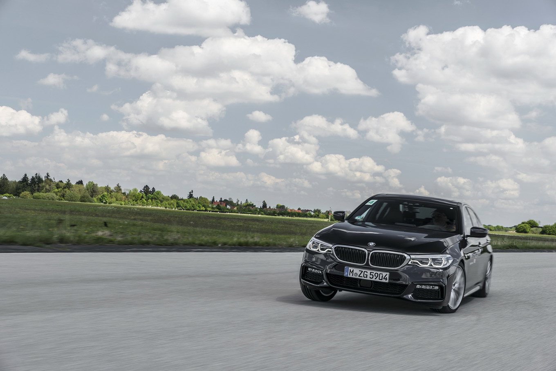 Тест-драйв BMW 540i: Семь пядей