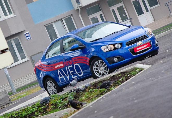 Тест-драйв Chevrolet Aveo   NEW – заново знакомимся с Aveo