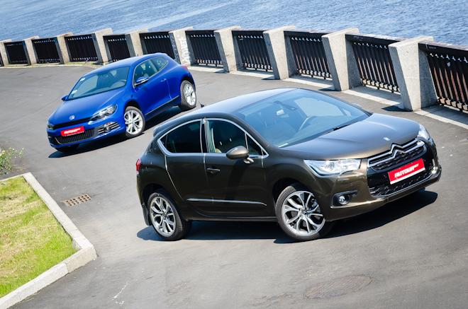 Сравнительный тест-драйв Citroen DS4 vs. Volkswagen Scirocco