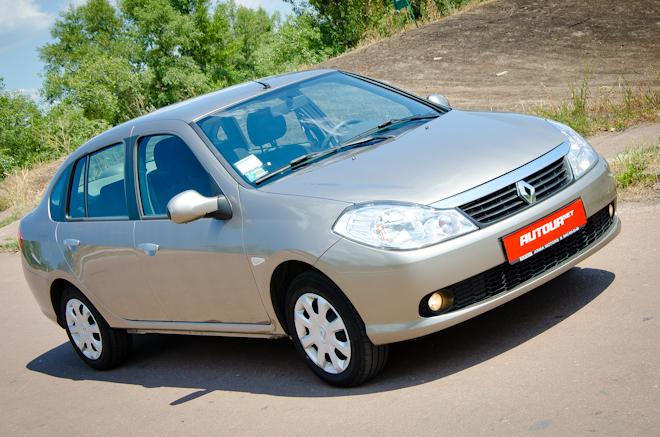 Тест-драйв Renault Symbol — мистер экономичность