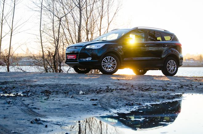 Тест-драйв Ford Kuga — популярность не порок
