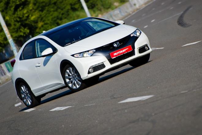 Тест-драйв Honda Civic хетчбэк 2012 — ищем дух старой Хонды в новом Сивике
