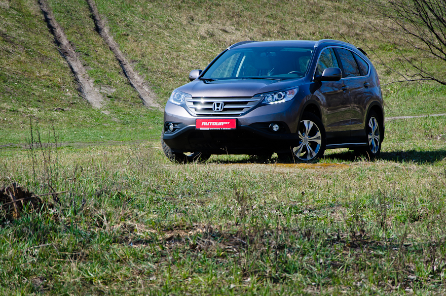 Тест-драйв Honda CR-V — объем имеет значение