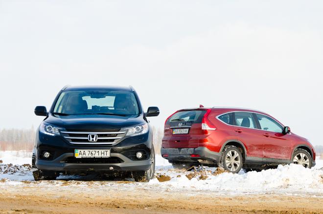 Первый тест Honda CR-V 2012 — грязевые ванны
