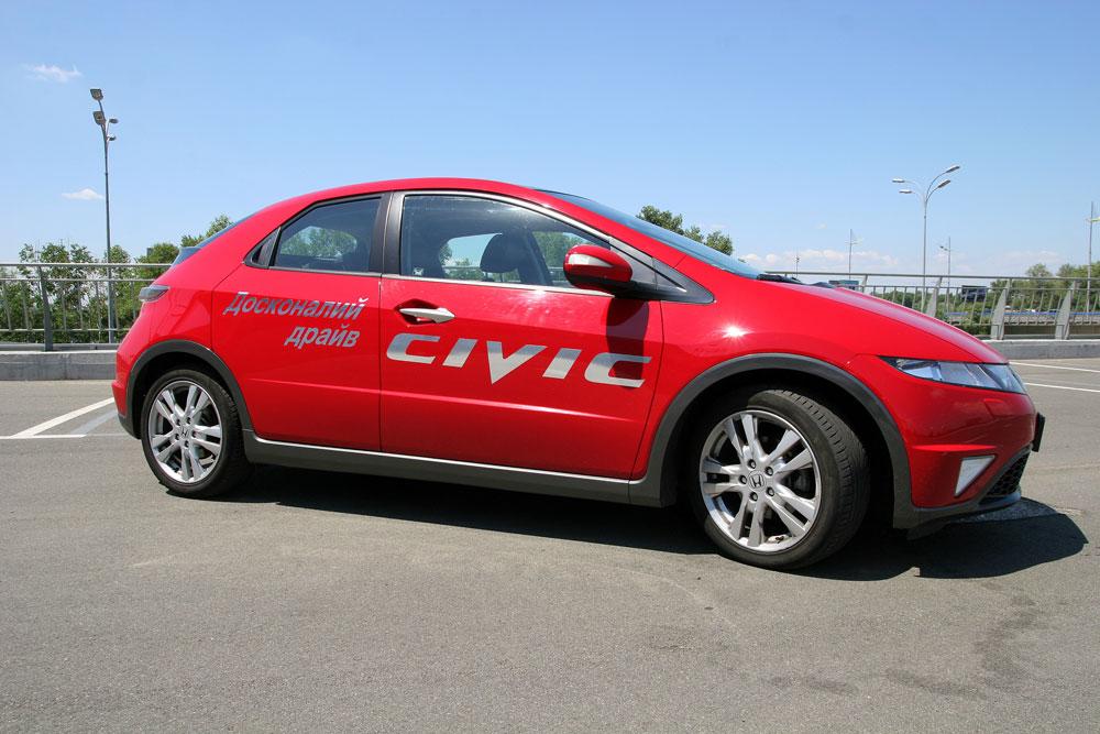 Honda Civic 5D — народный тест-драйв «космического» хетчбэка