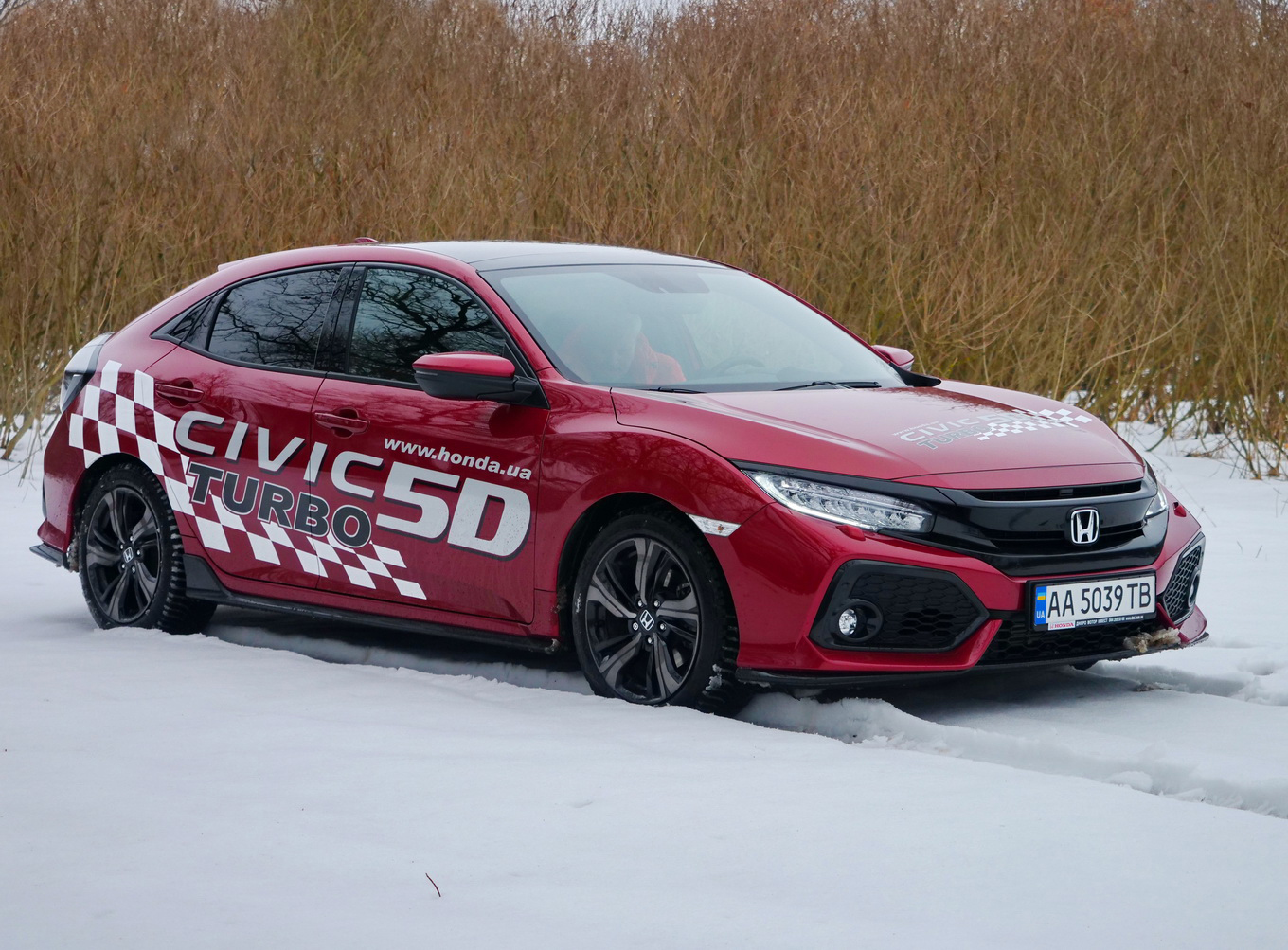 Тест-драйв Honda Civic Turbo: турбопровод