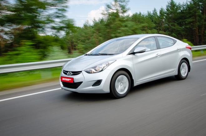 Тест-драйв Hyundai Elantra — золотая середина