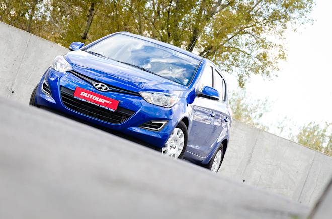Тест-драйв Hyundai i20 — классовый друг