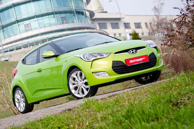 Тест-драйв Hyundai Veloster — двуликий Янус