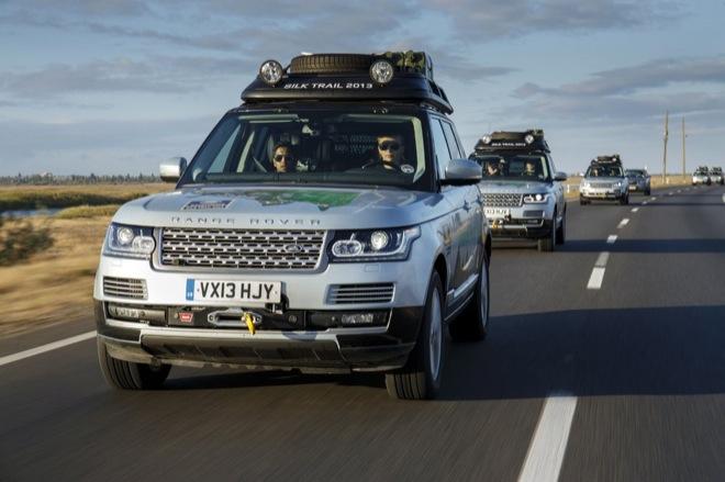 Первый тест-драйв Range Rover Hybrid — Шелковый путь