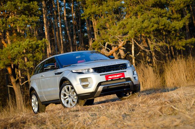Тест-драйв Land Rover Range Rover Evoque — малыш, который даст фору взрослым