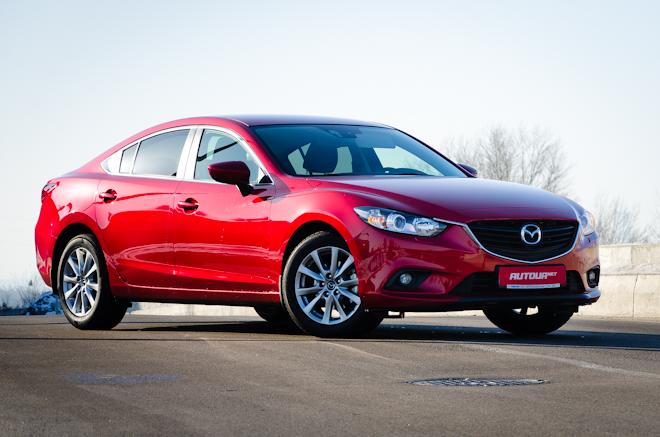 Тест-драйв Mazda6 — экономная красотка