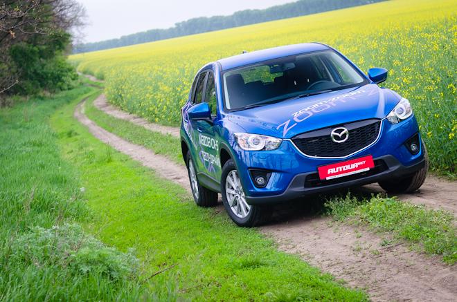 Mazda CX-5 — активные небеса
