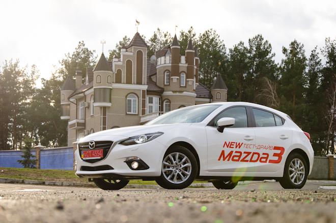 Тест-драйв Mazda3 2014 — радуемся появлению новой «матрешки» в Украине