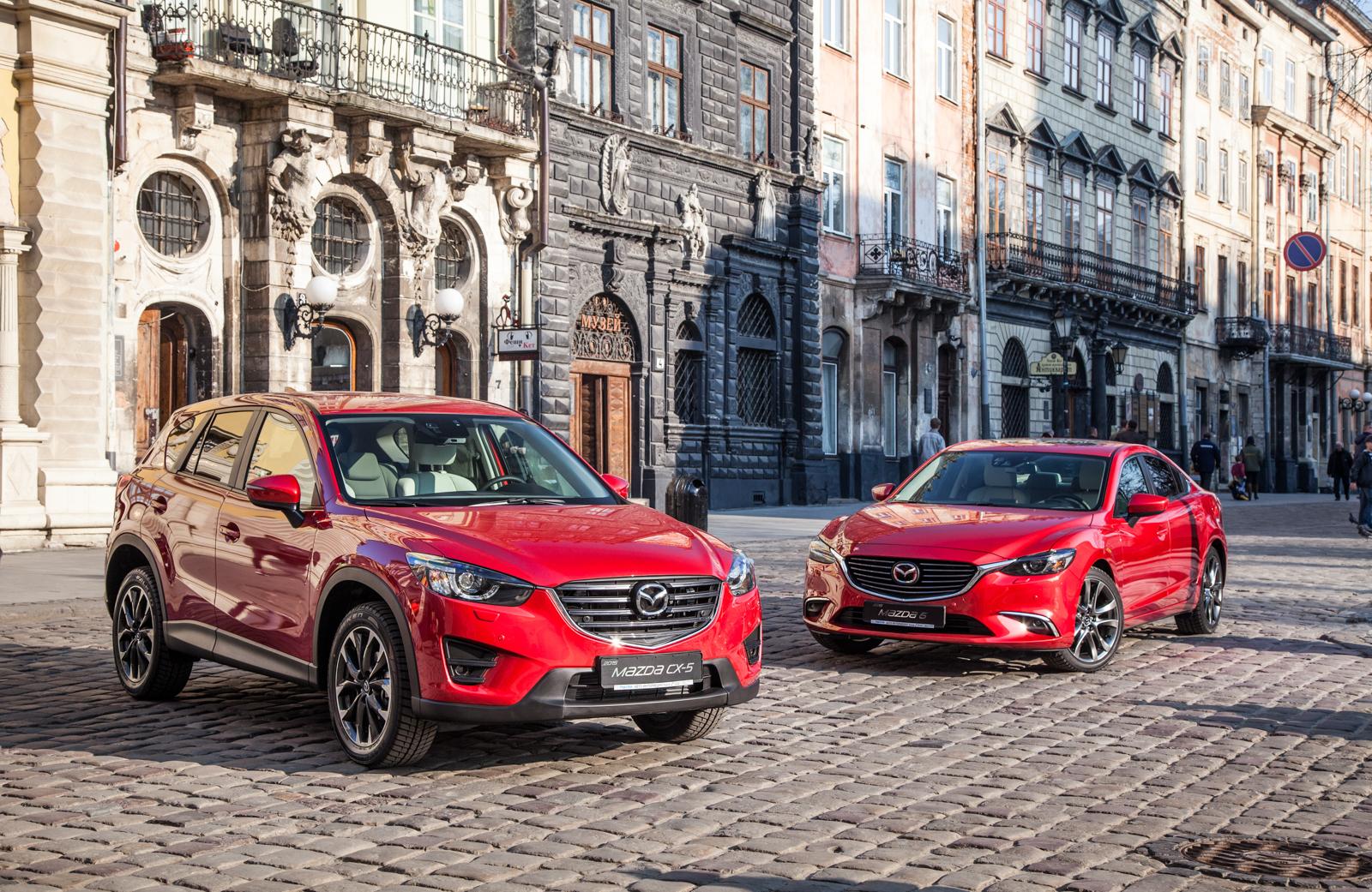Тест-драйв обновленных Mazda 6 и Mazda CX-5: что новенького?