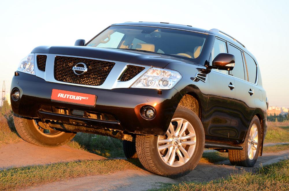 Nissan Patrol — народный тест-драйв внедорожника в смокинге