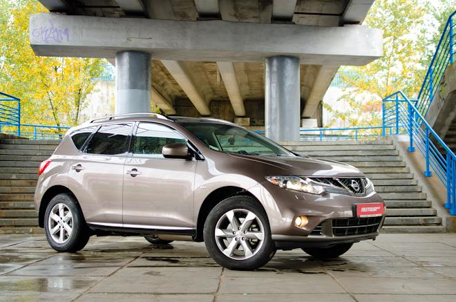 Тест-драйв Nissan Murano — агрессивная и комфортная мощь