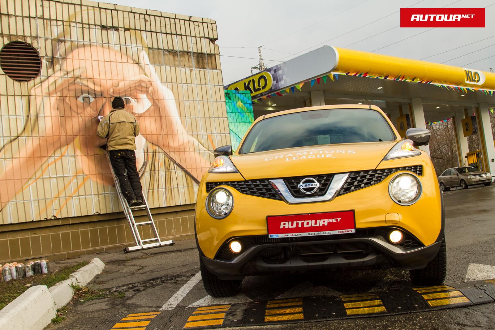 Тест-драйв Nissan Juke: Рассматриваем во все глаза!