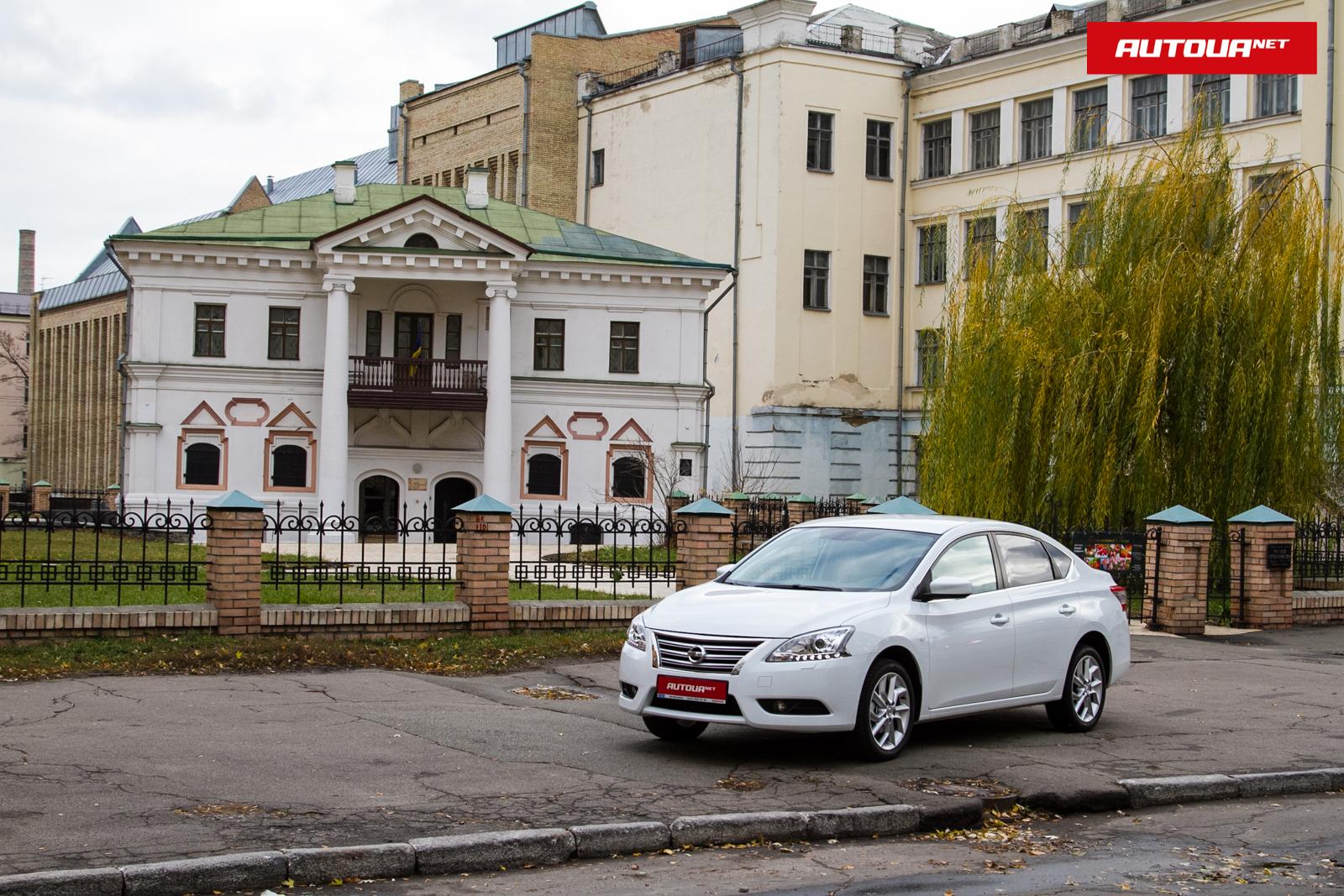 Тест-драйв Nissan Sentra: Бюджетный флагман?