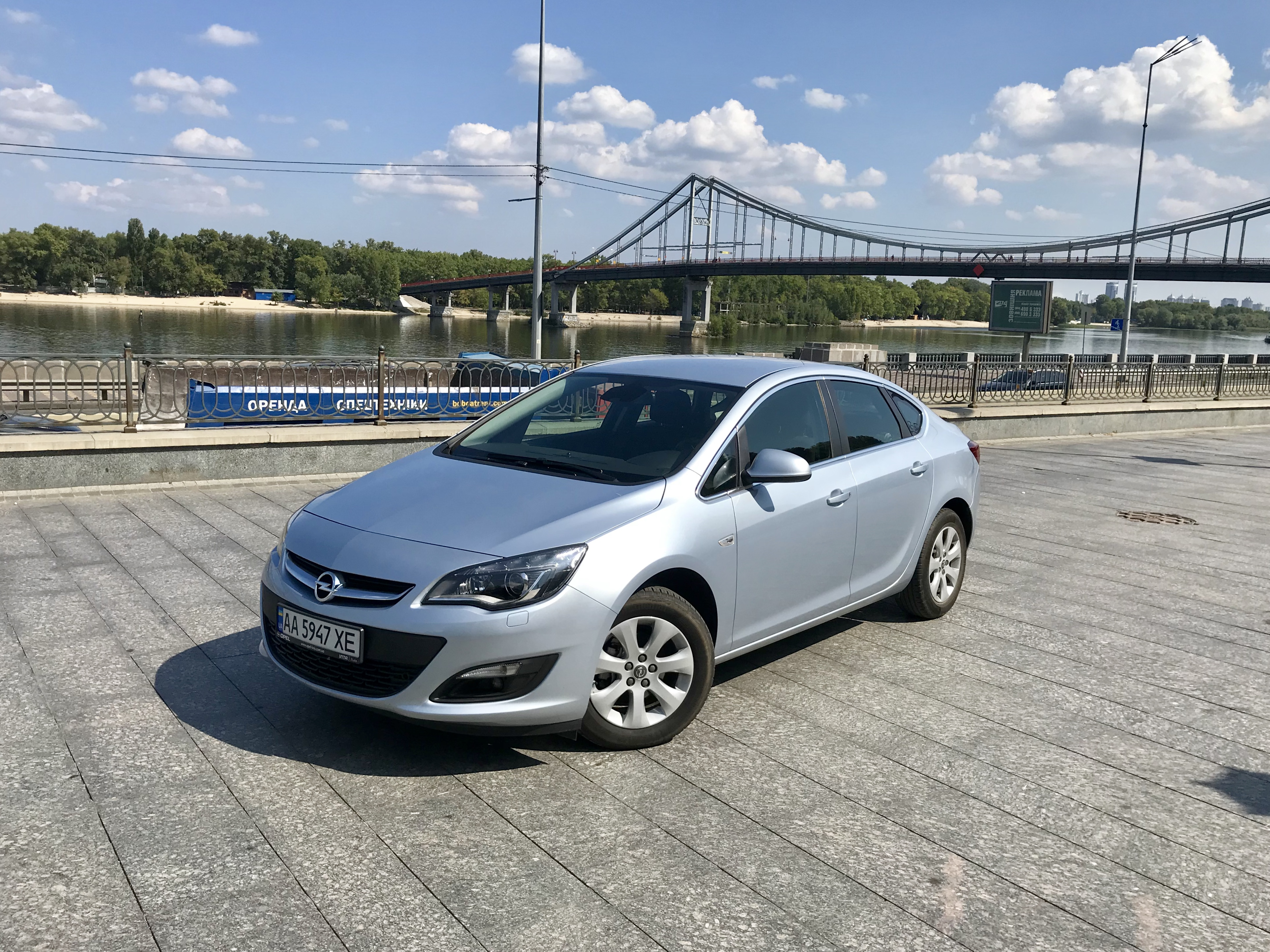 Тест-драйв Opel Astra J Sedan как аргумент за что любить Opel