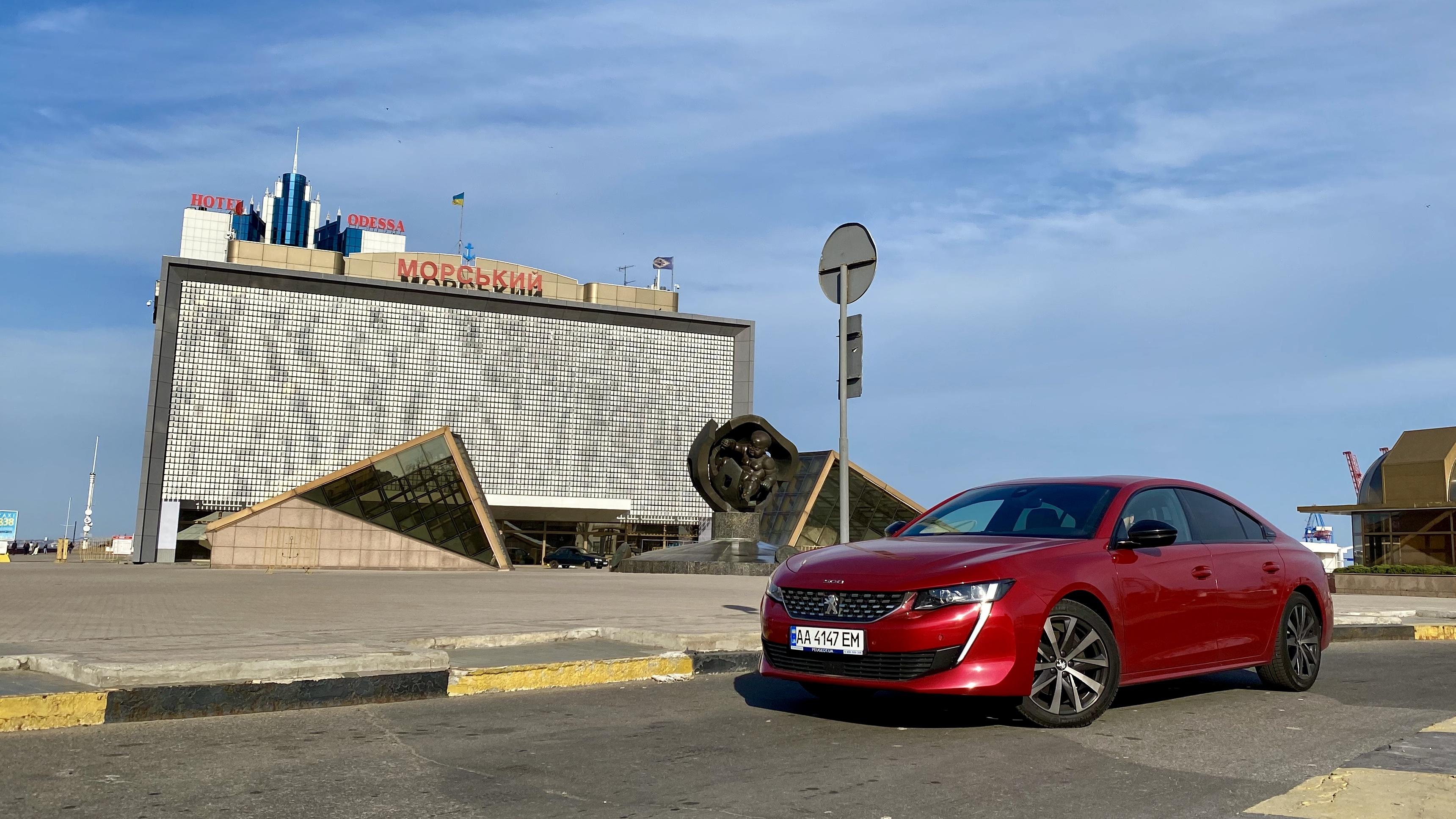 Тест-драйв Peugeot 508: от Киева до моря и обратно