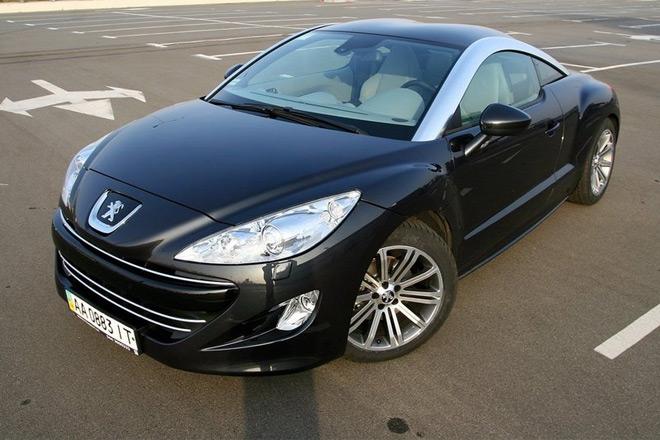 Peugeot RCZ — народный тест-драйв яркого автомобиля