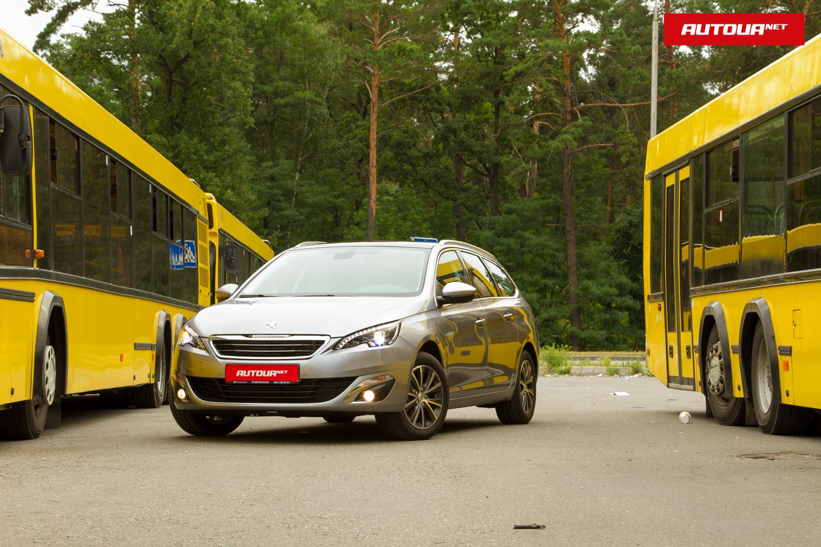 Тест-драйв Peugeot 308 SW: Теперь только пятиместный.