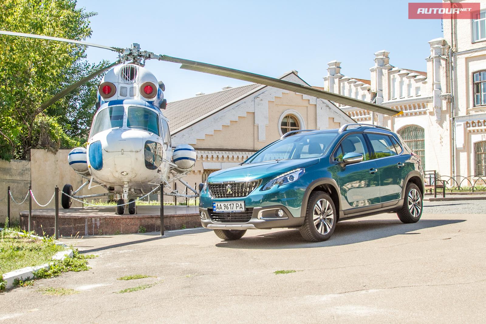 Тест-драйв Peugeot 2008: Вперед и вверх!