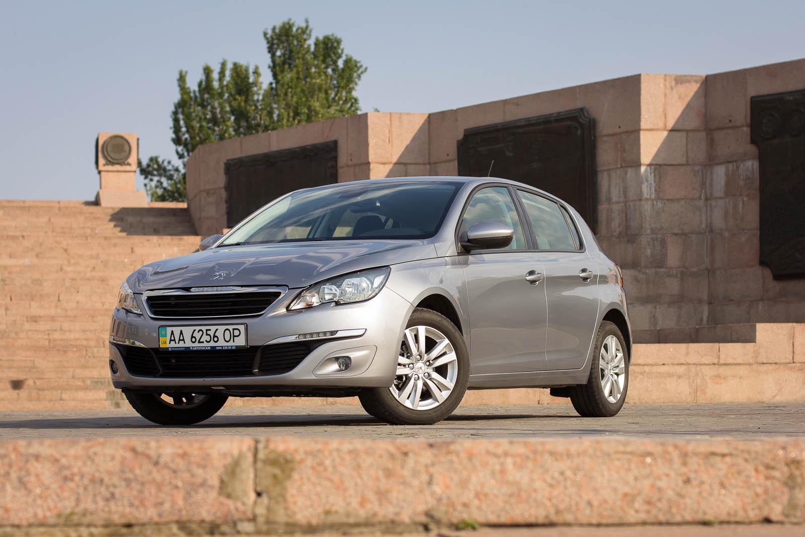 Тест-драйв Peugeot 308 - туда и обратно!