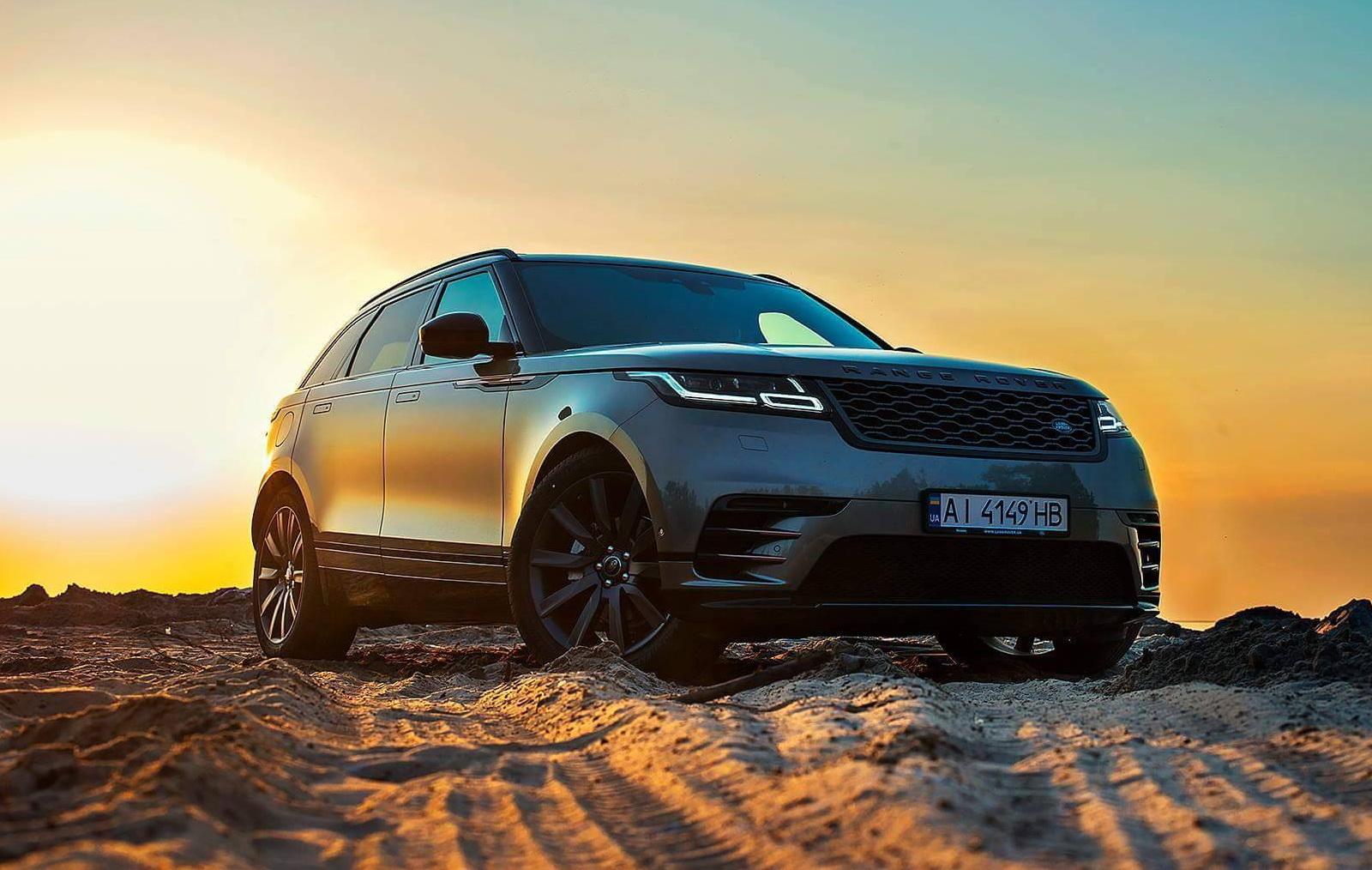 Тест-драйв Range Rover Velar: вау-фай