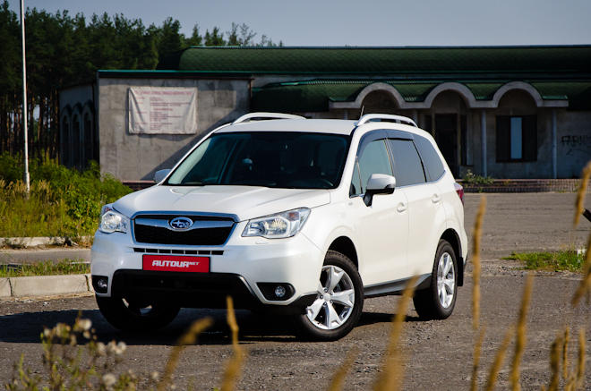 Тест-драйв Subaru Forester 2013 — эволюция «Лесника»