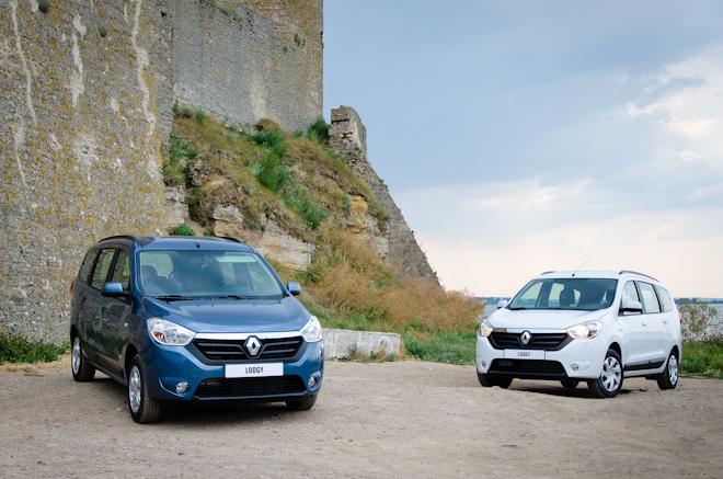 Первый тест Renault Lodgy и Dokker — в большой семье