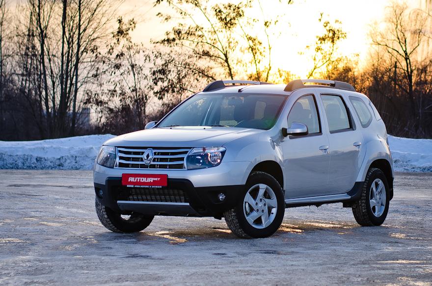 Тест-драйв Renault Duster 2014 — «российский след»