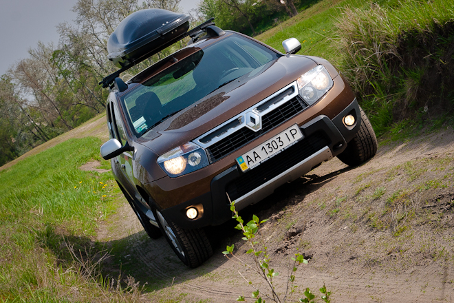 Тест-драйв Renault Duster — покоритель  пустынь